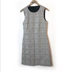 Theory plaid sheath dress Sz 8